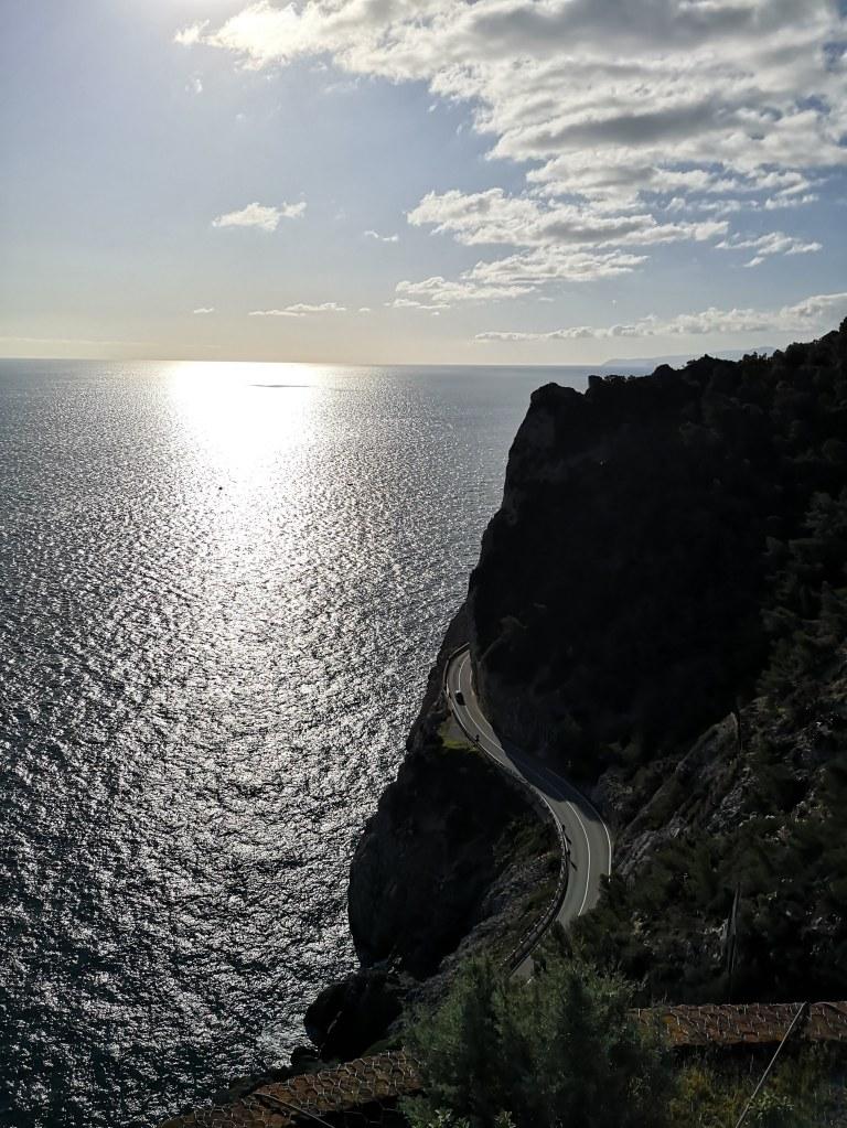 Views from Capo Noli on the sentiero del pellegrino