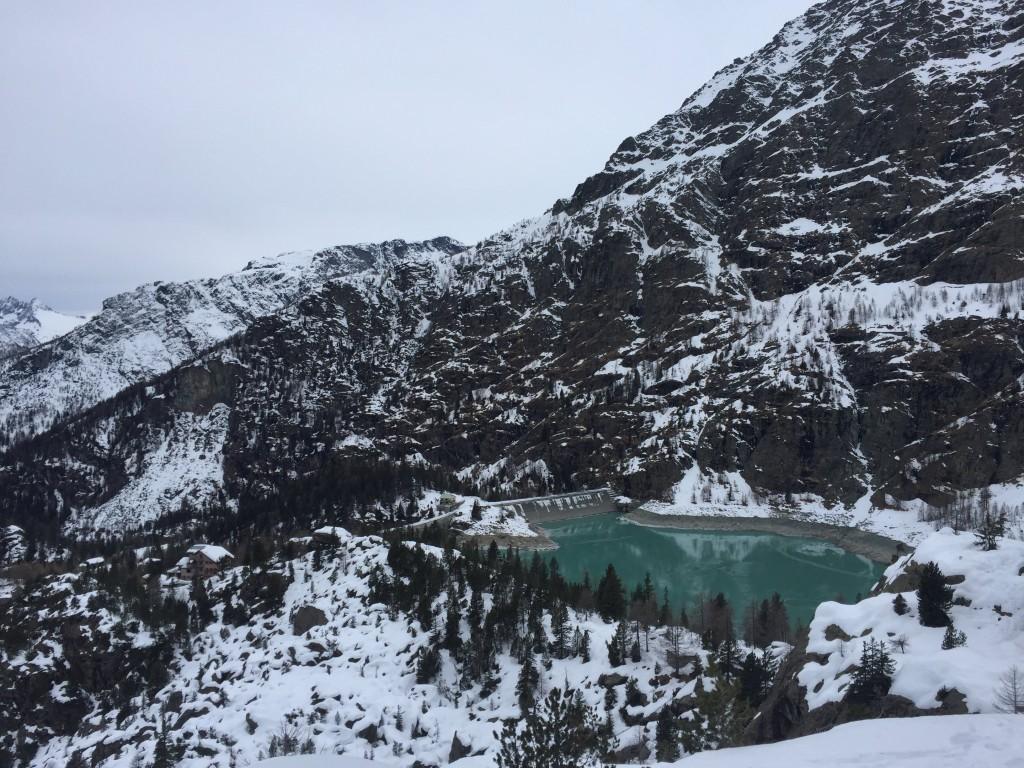 Dighe di campo moro. Valtellina. Snow hike.