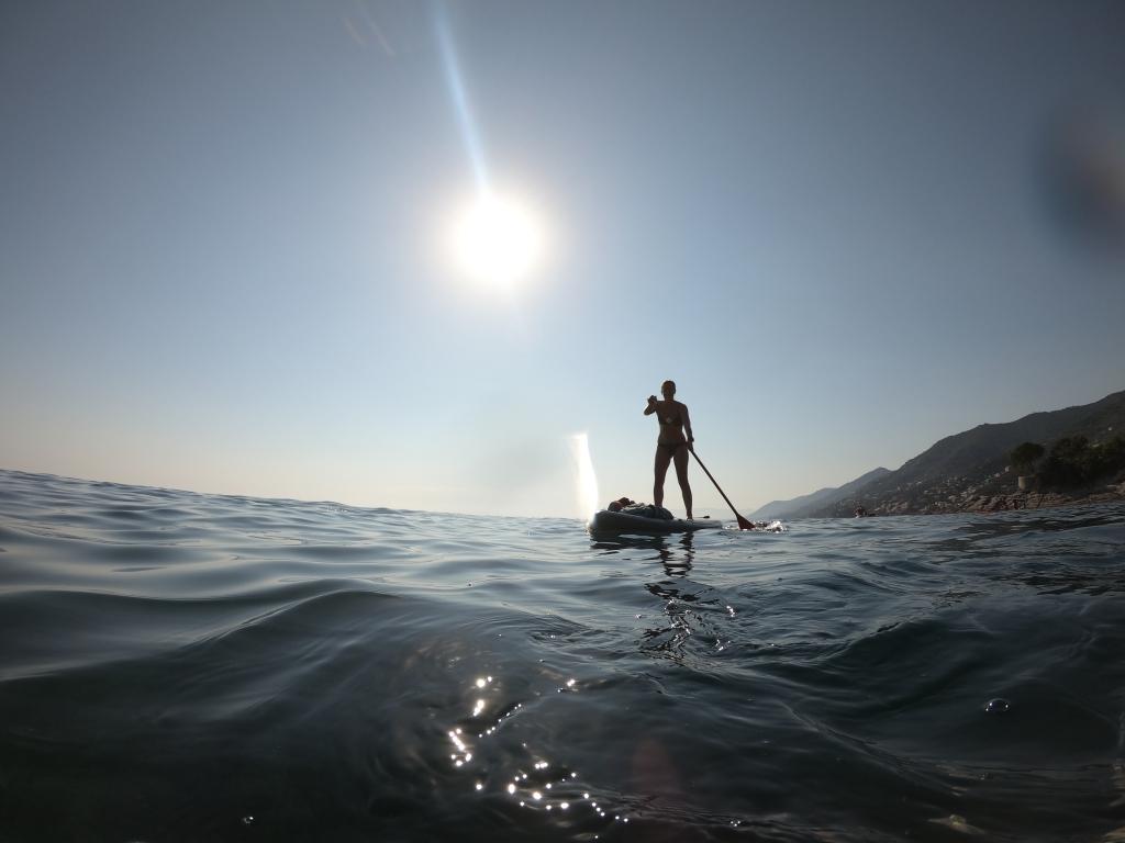 paddleboaring (SUP) in Camogli
