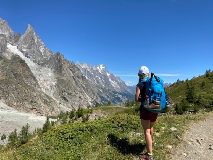 What's in my backpack: Tour du MontBlanc