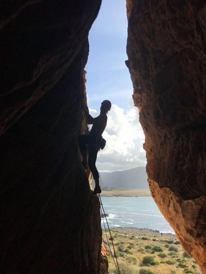 Climbing in Sicily- San Vito loCapo