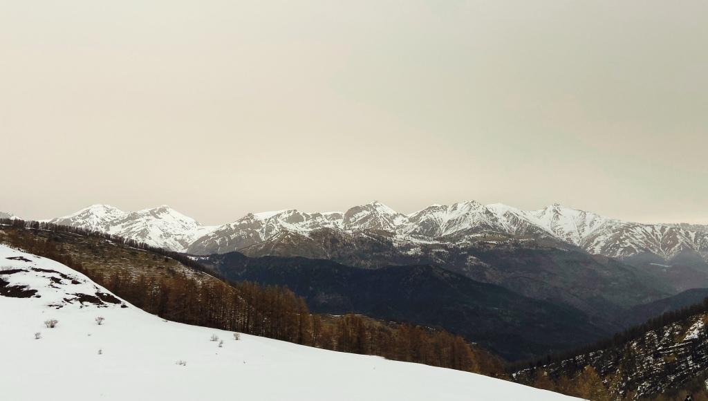Mountain view in Monesi, Liguria